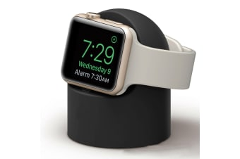 Charger Dock Stand Magnetic Wireless Holder For Apple Watch iWatch Series 3 4 5-Black