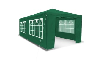 3x6M Outdoor Party Wedding Tent Canopy Gazebo with Walls - Green