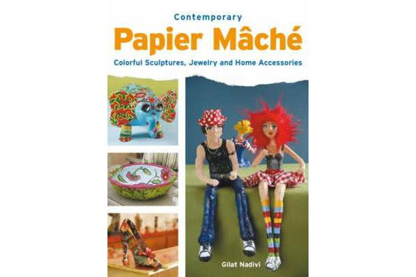 Contemporary Papier Mache - Colorful Sculpture, Jewelry, and Home Accessories