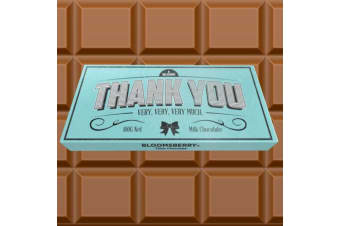 Thank You Chocolate Bar For Giving Thanks In A Delicious Way