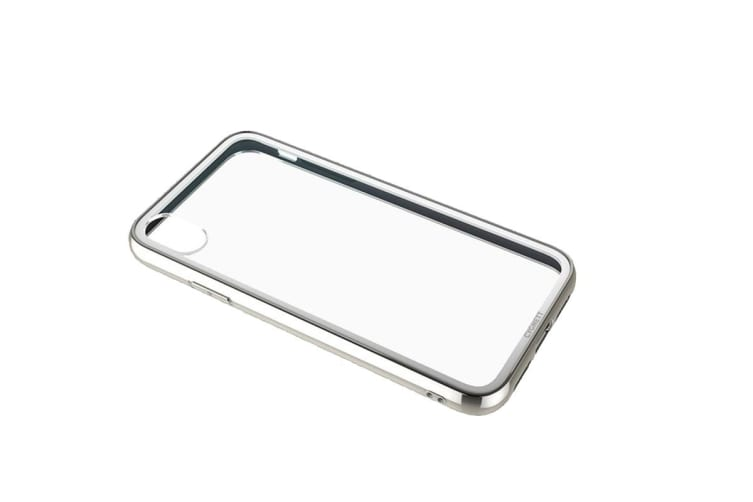 Cygnett Ozone 9H Tempered Glass Case for iPhone XR - Silver (CY2641OZONE)