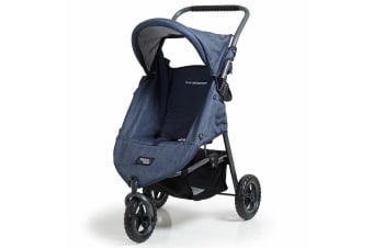 Valco Baby Doll's Pram Mini Runabout - Denim