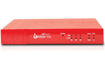 WatchGuard Firebox T15 MSSP (WW) hardware firewall 400 Mbit/s