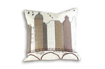 Riva Home Amsterdam Cushion Cover (Sand)