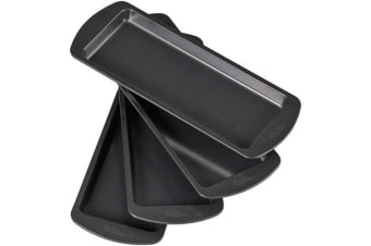 Wilton Easy Layer Cake Loaf Tins 4 Piece