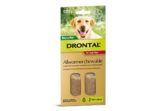 Drontal Allwormer Chews for Large Dogs