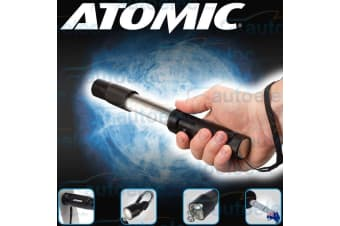 Atomic Handheld Led Magnetic Work Light Lamp Torch Aaa Battery New L.E.D 519401