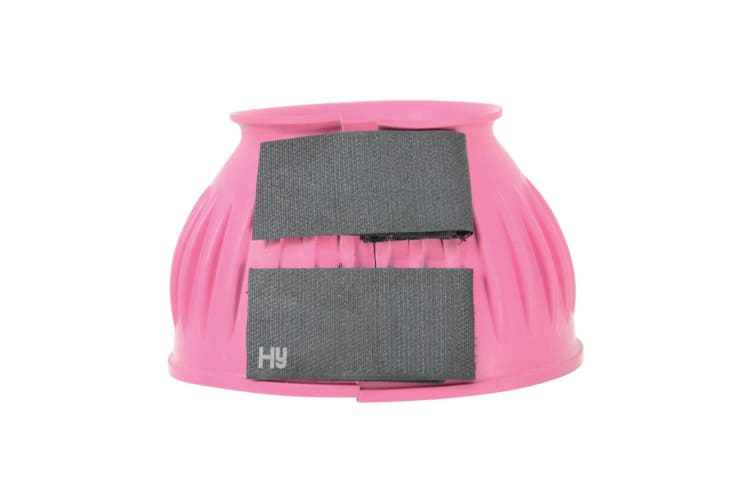 HyIMPACT Rubber Over Reach Boots (One Pair) (Pink) (S)