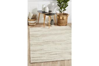 Carter Natural & Ivory Contemporary Rug 340x240cm