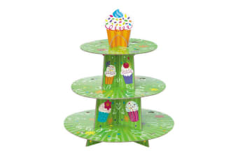 Unique Party Cupcake Tree Stand (Green) (One Size)