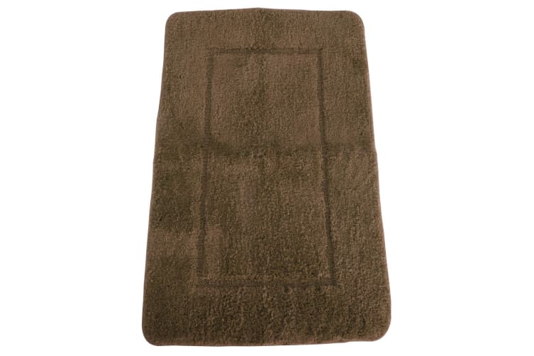 Mayfair Cashmere Touch Ultimate Microfibre Bath Mat (Natural) (50x80cm)