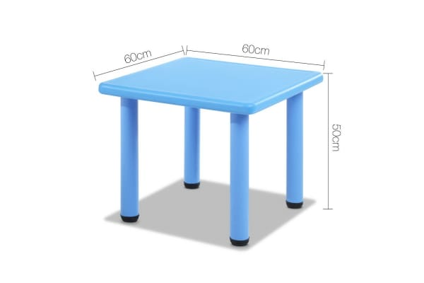 Kids Table Play Set (Blue)