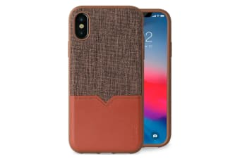 Evutec Northill Drop Proof Fabric/Leather Case For Apple iPhone X/XS w/Mount BRW