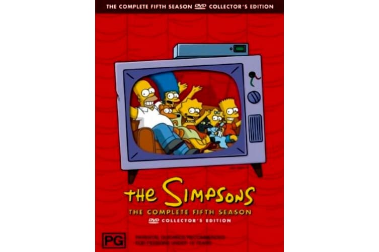 The Simpsons: Season 3 Collector's Edition -Animated Series DVD PREOWNED: DISC LIKE NEW