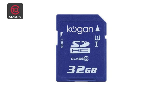 Kogan 32GB SDHC Ultra High Speed (UHS) Class 10 Memory Card