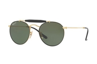 Ray Ban RB3747 900058 50 Black Gold Mens Womens Sunglasses