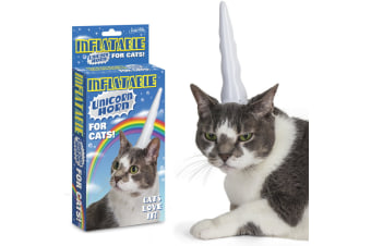 Inflatable Unicorn Horn For Cats | Pet Cat Accessories Toy Toys Cap Hat Fun Funny