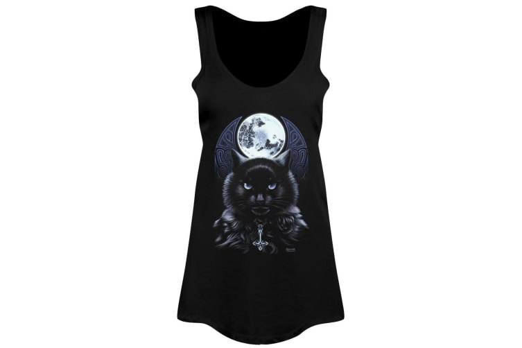 Requiem Collective Ladies/Womens The Bewitching Hour Floaty Tank (Black) (Medium (UK 10-12))