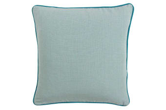 Paoletti Bamboo Cushion Cover (Duck Egg/Aqua)