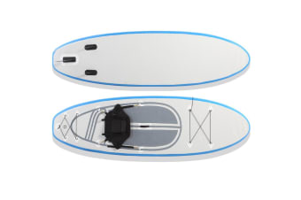 Extra Wide Stand Up Paddle Board Inflatable SUP Surfboard Paddleboard Kayak Surf