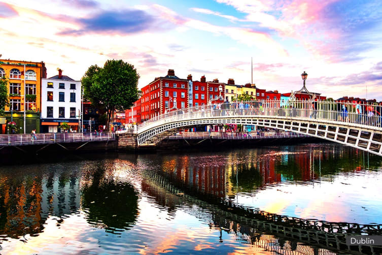 IRELAND: 11 Day Uncover Ireland Tour with Abu Dhabi Stopover Including Flights for Two