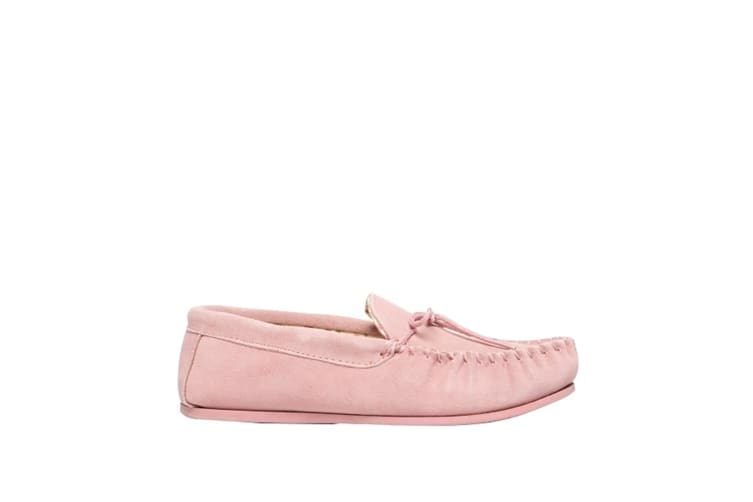 Mokkers Womens/Ladies Lily Slip On Slippers (Pink) (5 UK)