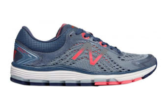 New Balance Women's 1260v7 Running Shoe - D (Reflection/Indigo/Coral)