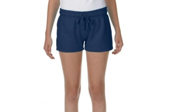 Comfort Colors Womens/Ladies French Terry Shorts (True Navy) (S)