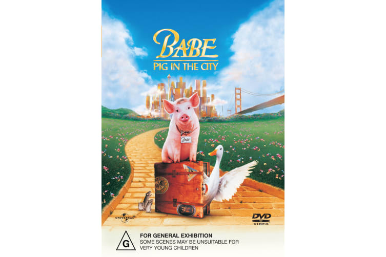 Babe Pig in the City DVD Region 4
