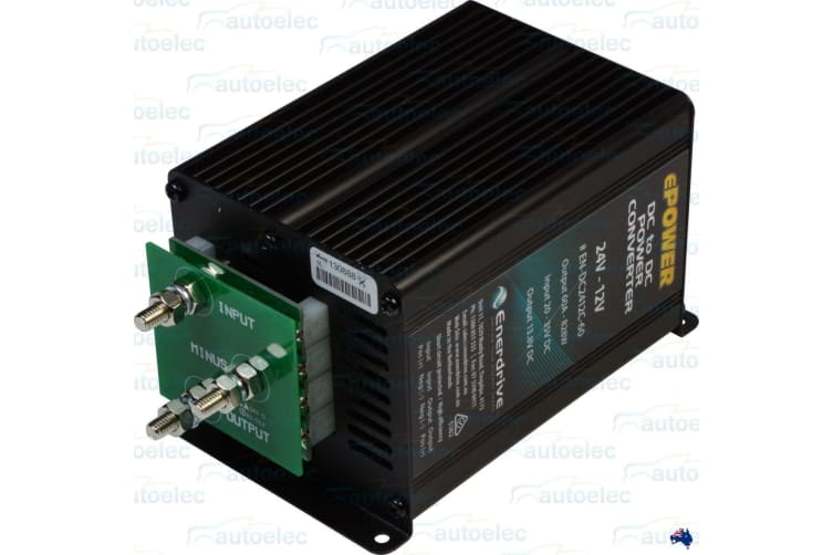 ENERDRIVE 24 VOLT TO 12 VOLT 24V 12V VOLTAGE REDUCER 60 AMP OUTPUT ENDC2412C60