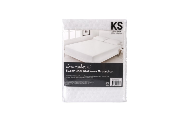 Cool Touch Mattress Protector Super rKing Bed