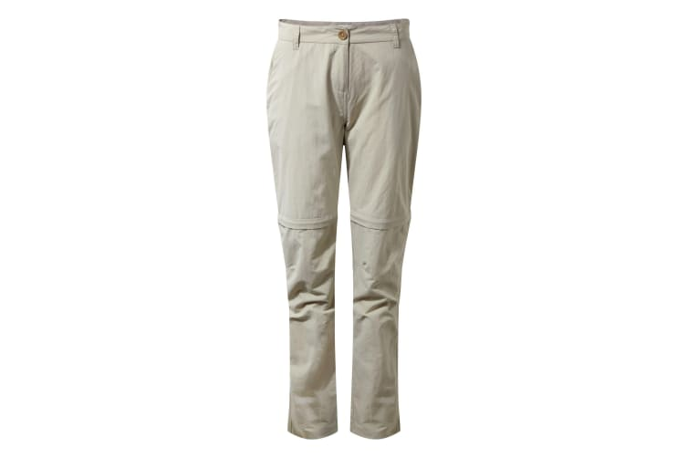 Craghoppers Womens/Ladies NosiLife III Convertible Trousers (Desert Sand) (12L UK)