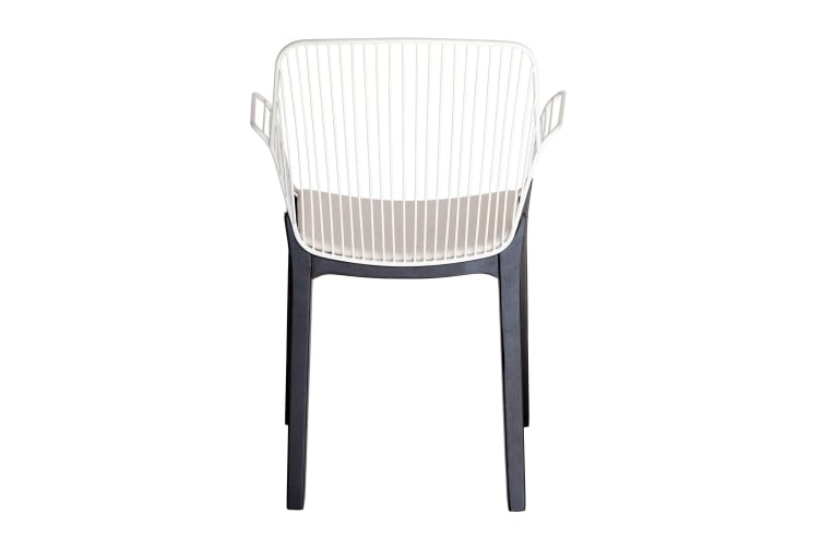 Kyoto Dining Chair   White & Black