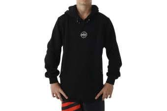 JetPilot Showtime Youth Hoodie - Black - 14