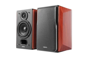 Edifier Passive Bookshelf Speakers with Premium Wooden Enclosures (P17)