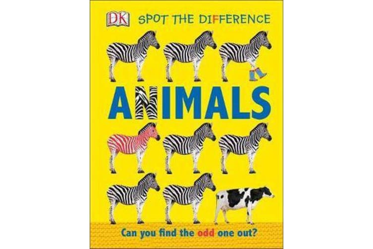 Spot the Difference Animals - Can you Find the Odd One Out?