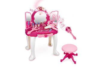 Princess Dressing Table with MP3, Magic Wand with Lights and Music