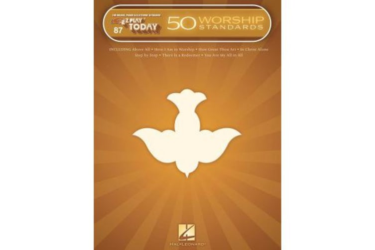50 Worship Standards - E-Z Play Today Volume 87
