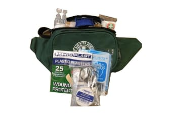 Bushwalk First Aid Kit - Green