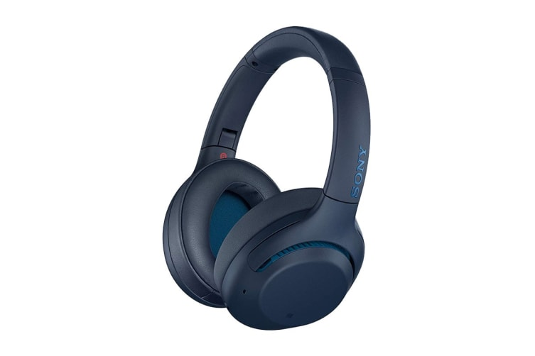 Sony WH-XB900N Wireless Noise Cancelling Headphones (Blue)