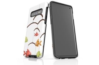 For Samsung Galaxy S10 Case  Armour Tough Cover  Fishing Chandelier