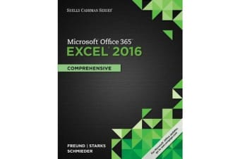 Shelly Cashman Series Microsoft Office 365 & Excel 2016 - Comprehensive