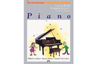 Alfred's Basic Piano Course Lesson Book - Complete 1