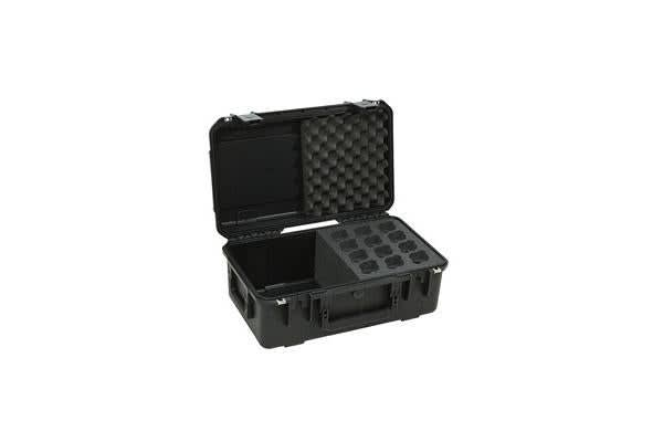 SKB iSeries Waterproof Molded Microphone Case - Up to 6 Mics