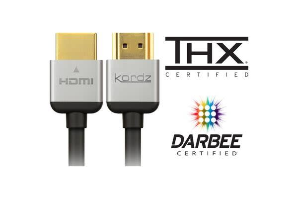 Kordz 0.6M  Thx Certified Hdmi Lead
