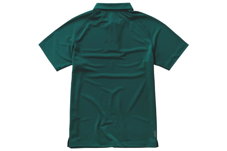 Elevate Mens Ottawa Short Sleeve Polo (Forest Green) (XS)