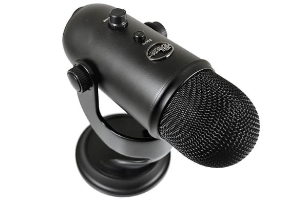 Blue Yeti 3-Capsule USB Microphone - Black (90021660)