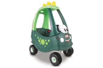 Little Tikes Dino Cozy Coupe Toddler Indoor/Patio Children Ride-On Toy Car 18m+