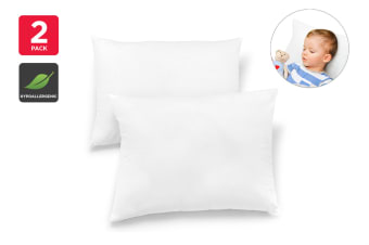Ovela Pack of 2 Kids Junior Antibacterial Pillows
