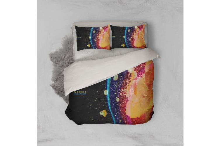 3D Band Radiohead Quilt Cover Set Bedding Set Pillowcases 78-Queen